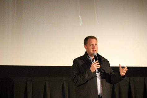 Christian film director makes an impact at the spring event