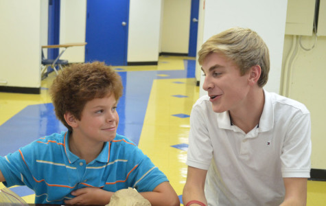 High School Students Mentor Middle School