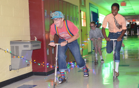 'Nerdy' students play zombie-themed games at Stuco fall event