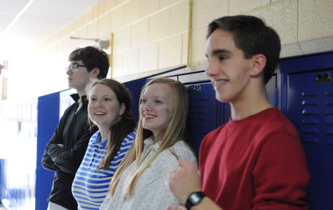 Students audition for spring play