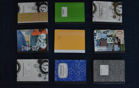 Students' math notebooks display students' individuality.