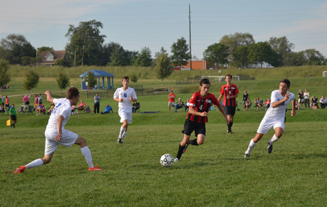 Soccer Boys shoot for a third straight win against soccer powerhouse, Blue Valley West