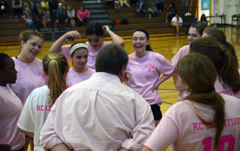 Volleyball and soccer teams raise breast cancer awareness with Pink Night
