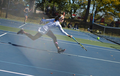 KCC hosts State for girls tennis at Harmon Park, Vialle finishes fourth