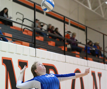 Girls varsity volleyball team competes in Sub-State