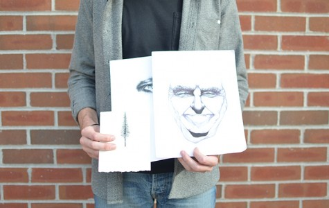Senior gets recognized for artistic talent
