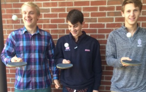 Students Create Ping Pong Club