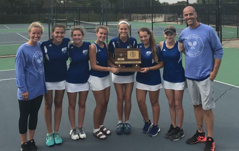 Girls tennis takes second at State