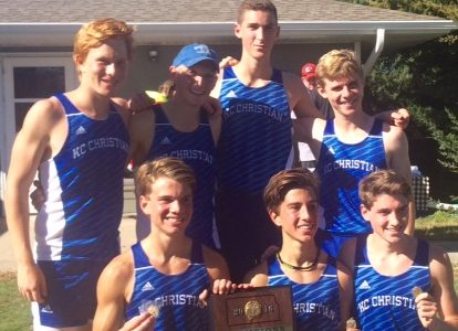 Cross country boys team wins Regionals