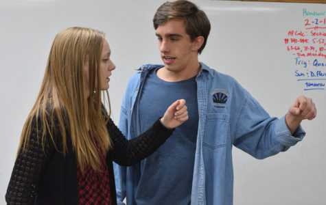 Forensics duet qualifies for state nomination