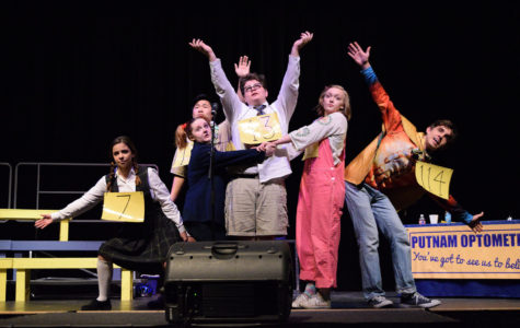 Spring musical provides roles fitting to the actors of the nine person cast