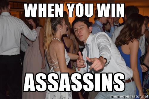 meme may 2017 when you win assassins meme of the week 51 the paw print