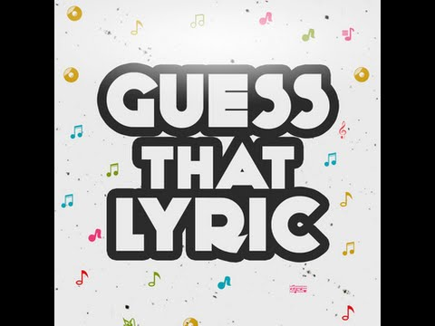 Quiz: Can you guess the lyric form these popular songs?